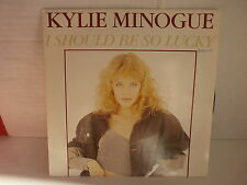 KYLIE MINOGUE I should be so lucky CBS 651489 7