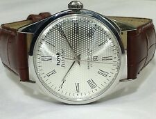 HMT JUBILEE ROMAN NUMBERS 17J. HAND WINDING VINTAGE WATCH~ BEAUTIFUL DOTTED DIAL