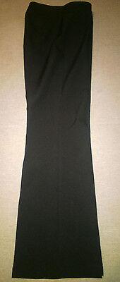 ** Donna Nero Elegante Pantaloni, Taglia 8 **- Originale Al 100%