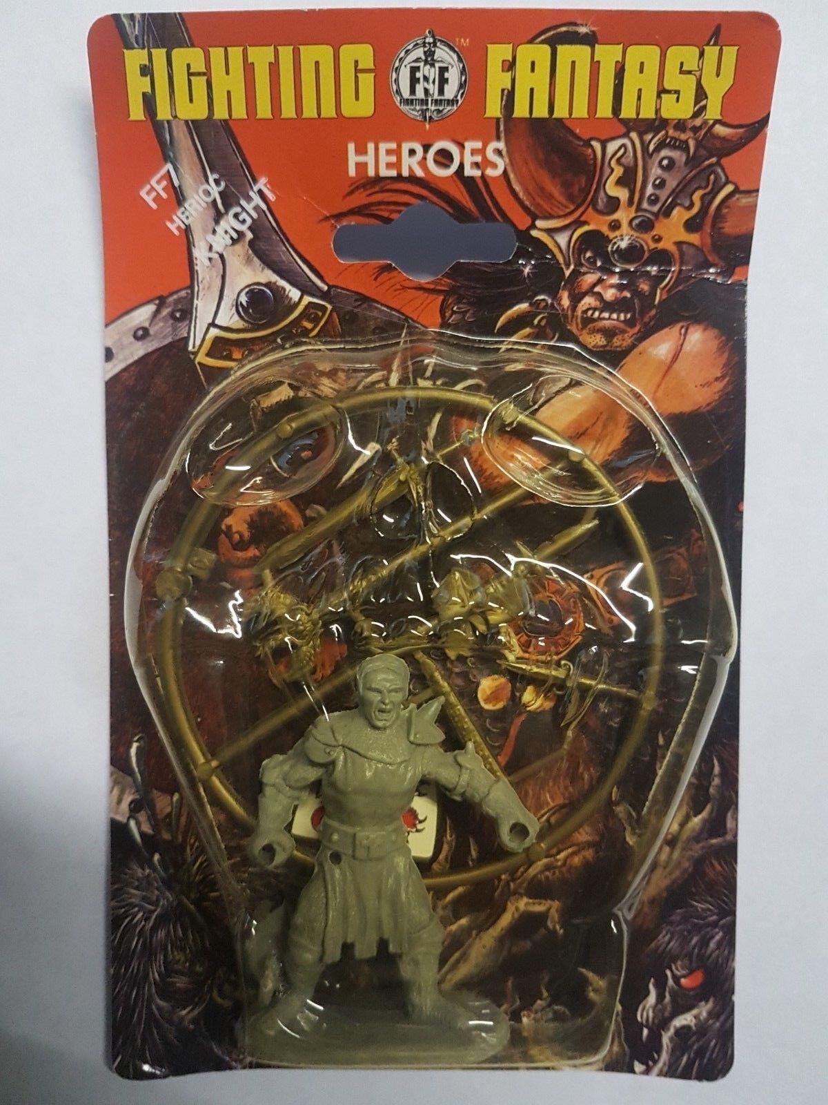 FF07 Heroica Caballero - Lucha Fantasía Heroes - Tienda Juegos-1982-Precintado