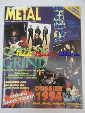 rivista METAL SHOCK 182/1994 Gods Of grind Fear Factory John Paul Jones Nocd