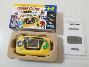 Sega Game Gear Micro Console Yellow HCV-3278 Japan b 0426A23