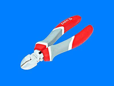 3 x Kraft Elektriker Zangen Seitenschneider Kombizange Spitzzange Ergo-Griff  YT