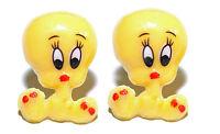 Bright Yellow Tweety Bird Stud Earrings (s058)