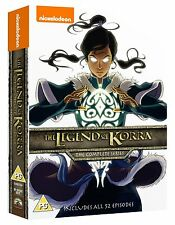 The Legend Of Korra . Complete Series . Book 1 2 3 4 Season . Anime . 8 DVD NEU