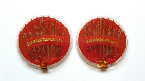 Disc Needles Sewing Needles Hand Sewing Craft 30 Assorted Needles Per Pack