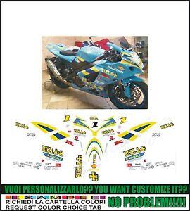 kit adesivi stickers compatibili  gsxr 600 750 1000 rizla BSB
