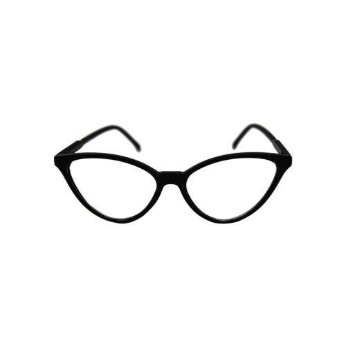 VTG 50s//60s Style Clear Lens Cat Eye Office Retro Rockabilly Glasses UK Stock