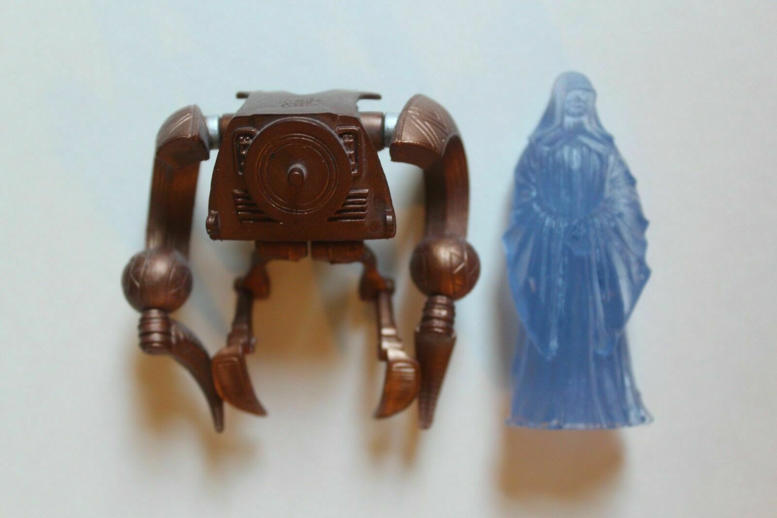 Darth Sidious Hologram BD10 2009 STAR WARS The Legacy Collection MOC