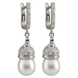 Sterling-silver-rhodium-plated-dangling-earrings-8-9mm-freshwater-pearls-ESR-215