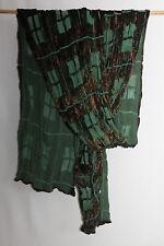 cocon.commerz PRIVATSACHEN EINDRUCK Schal  aus Ausbrennersamt in grün