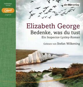 ELIZABETH-GEORGE-BEDENKE-WAS-DU-TUST-EIN-INSPECTOR-LYNLEY-ROMAN-2-CD-NEW