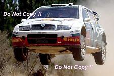 Colin McRae Skoda Fabia WRC Rally Australia 2005 Photograph 5