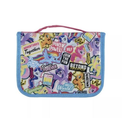 My Little Pony Movie Carry Filled Pencil Case School Stationery Accessory Set