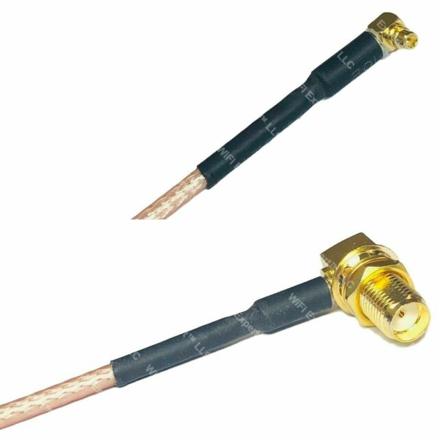 RG316 SMA MALE ANGLE to SMA FEMALE ANGLE Coaxial RF Cable USA-US