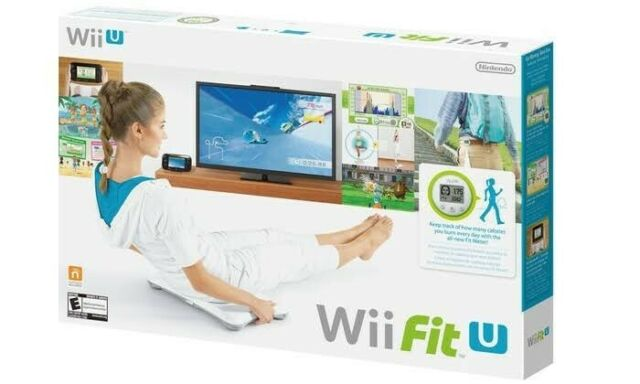 Nintendo Wii Fit U Game + Balance Board + Fit Meter BRAND NEW AUS