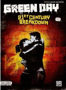 GREEN-DAY-21st-Century-Breakdown-Music-Book-TAB-NEW