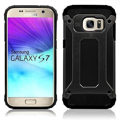 Black Slim Hybrid Protective Box Case Cover Accessory For Samsung Galaxy S7 Edge