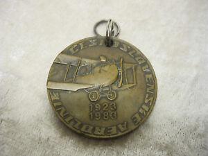 Csa-Ceskoslovenske-Airlines-60-Ok-Jet-Medal-Key-Chain-1963-1983