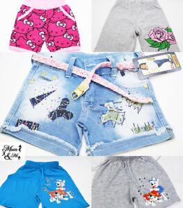 Garcons-Filles-Enfants-Minnie-frozen-printemps-ete-Layered-Pantalon-Short