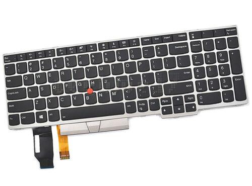 ThinkPad E580 L580 US Backlight Keyboard FOR Lenovo 01YP680 SN5372BL USA