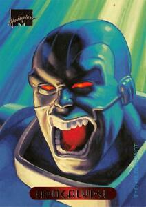 APOCALYPSE-1994-Marvel-Masterpieces-Fleer-BASE-Trading-Card-01