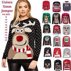 03c0abfb69295 New Unisex Men Women Santa Xmas Christmas Novelty Fairisle Retro ...