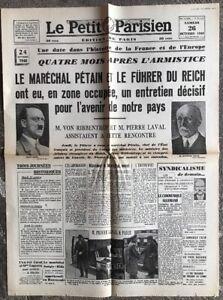 N38-La-Une-Du-Journal-Le-Petit-Parisien-26-Octobre-1940