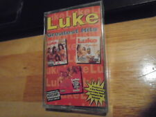 SEALED RARE OOP Luke CASSETTE TAPE Greatest Hits 2 LIVE CREW rap Dr. Dre diss !