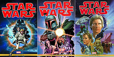 STAR WARS The Marvel Years Omnibus HC Vol 1, 2, 3 Complete Set *Sealed* $375cvr