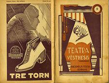 Magazine Teatra vestnesis N.9 Latvian 1931 Riga Lettland Cover - Herberts Likums