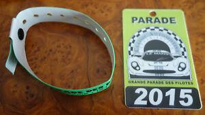 100% Vrai Badges Accès 24h Du Mans Parade Des Pilotes Beau Lustre