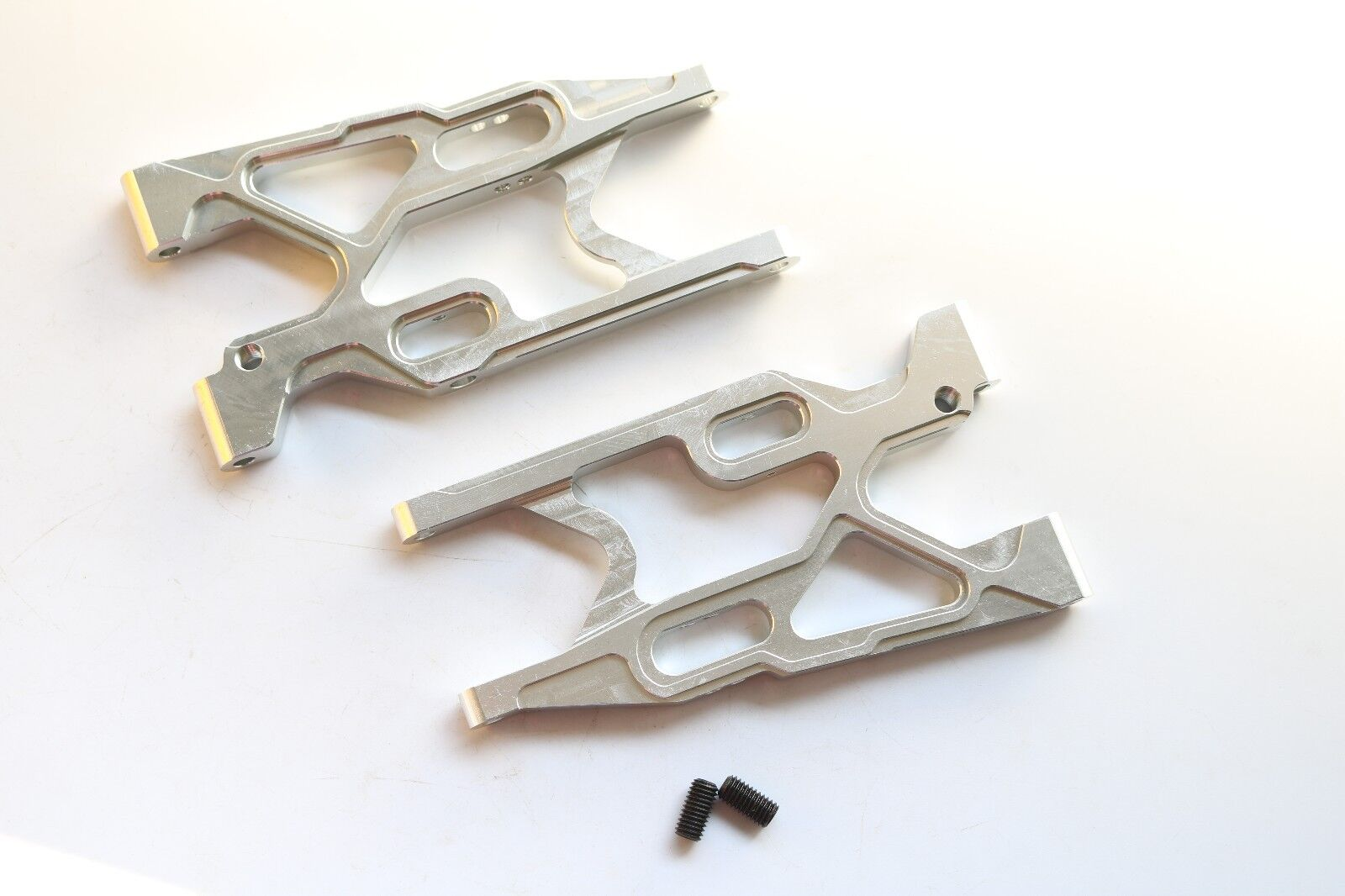 CNC tuttioy Rear Suspension Arm set  for Losi 5ive T Rovan LT re Motor Sliver  risparmia il 35% - 70% di sconto