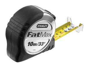 Stanley-Tools-STA533896-FatMax-Pro-Pocket-Tape-10m-33ft-Width-32mm