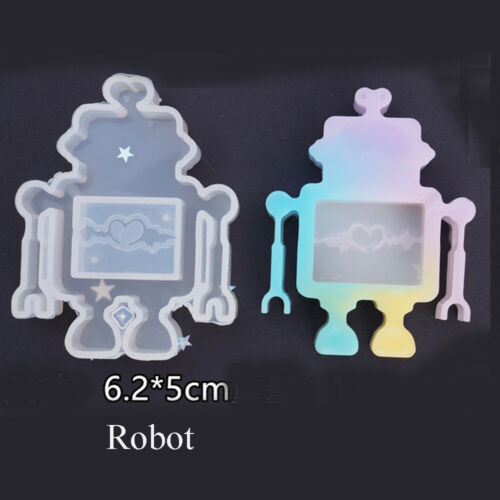 Crystal Key Chain Resin Mould Jewelry Making Tools Silicone Mold UV Epoxy