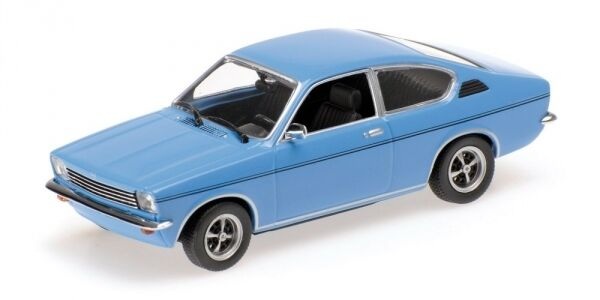 OPEL KADETT C COUPE' 1973 bleu 1 43 Model MINICHAMPS