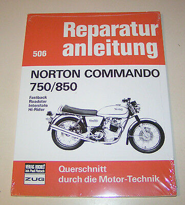 Norton Commando 750 850 Reparaturanleitung Reparatur-Handbuch Reparaturbuch POD