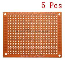 5pcs Prototyping PCB Circuit Board Stripboard Veroboard 90x70mm Copper