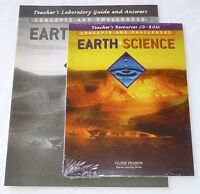 Globe Earth Science Concepts And Challenges Cd-rom Teacher's Resources/guide