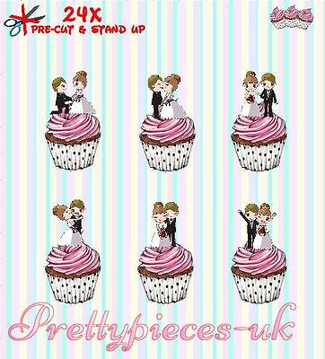 Tree Fu Tom 24 Stand-Up Pre-Cut Wafer Paper Cup cake Toppers