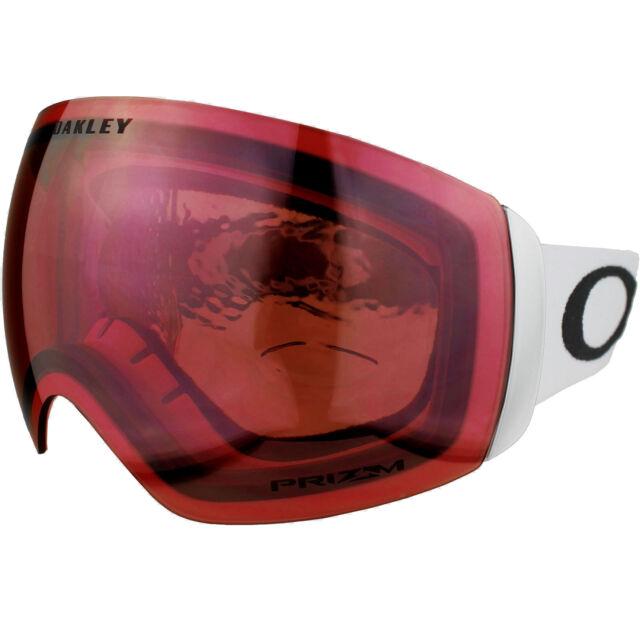 b1b66c889bef7f Oakley Flight Deck XM Masque de Ski snowboard Matte WHI   eBay