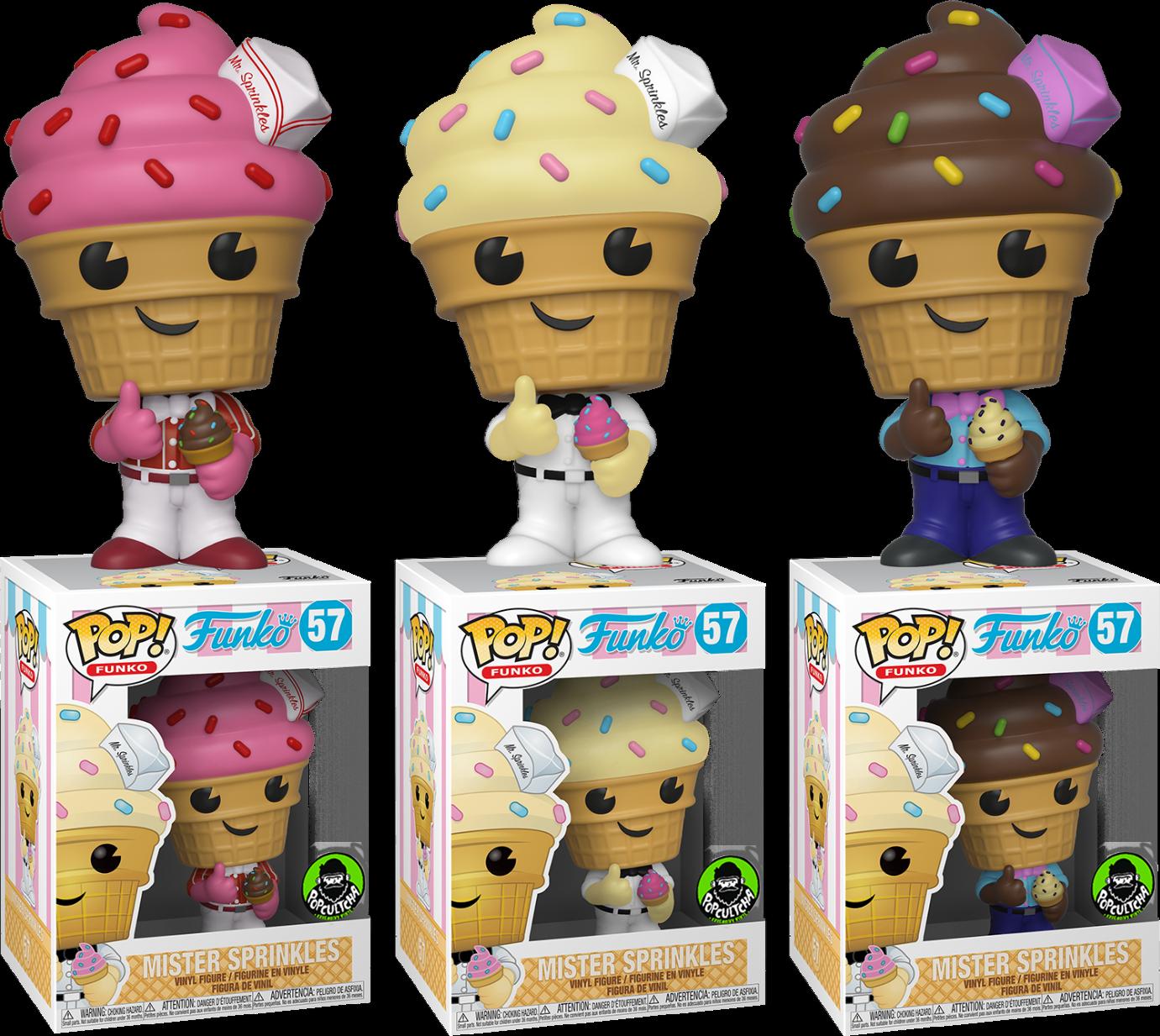 Mister Sprinkles Fantastik Plastik Three diverdeimentoko Pop VINYLs  nuovo in scatolaes  Sconto del 60%