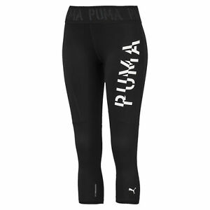 PUMA-Logo-Women-039-s-3-4-Leggings-Girls-Training