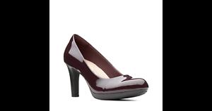 Zapatos Salón Adriel Clarks Berenjena De Mujer Violeta SUwanq