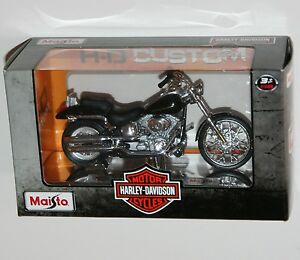 Maisto-Harley-Davidson-2000-FXSTD-SOFTAIL-DEUCE-Model-Scale-1-18