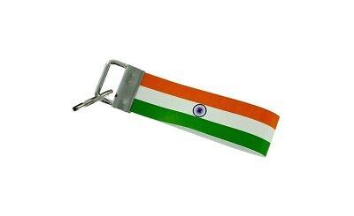 Keychain stripe key lanyard flag keyring ring car jdm band remote congo rdc