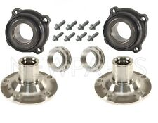 For BMW E46 E39 E63 E64 Pair Set of Rear Left /& Right Weel Hubs OES 33412229120