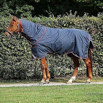 Horseware Amigo Bravo 12 plus medium 250 g Navy red & bluee Winter Blanket Willow