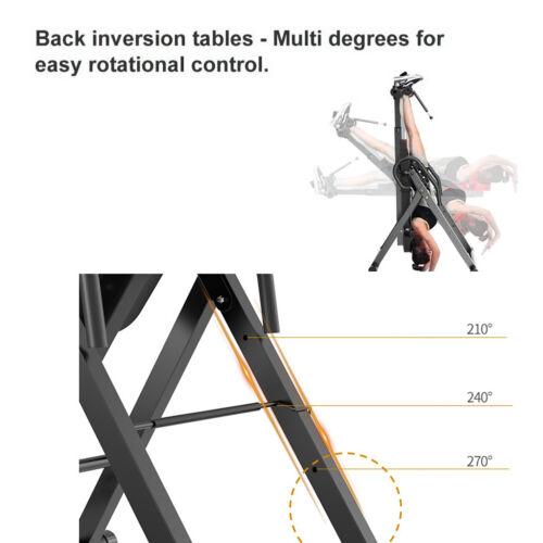 Inversionsbank Inversion Tabel einstellbar Schwerkrafttrainer Rückenstrecker DE