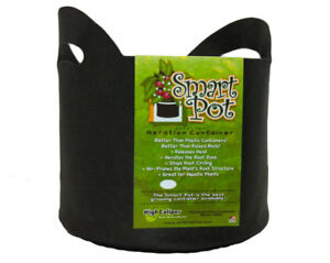 Smart-Pot-21005RT-Soft-Sided-Fabric-Container-with-Handles-Black-5-Gallon